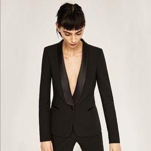 Zara Black Tuxedo Jacket M